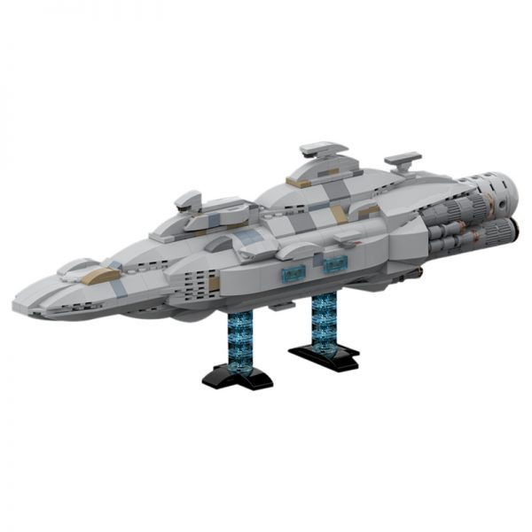 MOC 44432 Mon Calamari MC80 Home One type Star Cruiser Star Wars by Red5 Leader MOC FACTORY 2 - MOULD KING