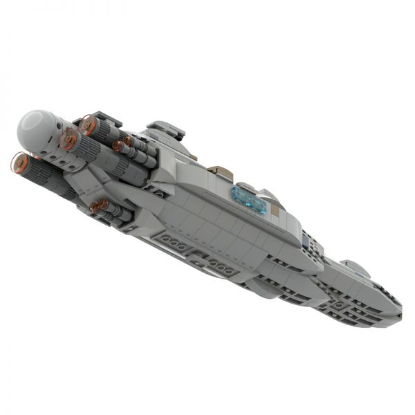 MOC 44432 Mon Calamari MC80 Home One type Star Cruiser Star Wars by Red5 Leader MOC FACTORY 3 - MOULD KING