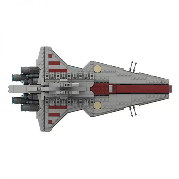 MOC 45566 Venator Class Republic attack cruiser Star Wars by Red5 Leader MOCFACTORY 3 - MOULD KING