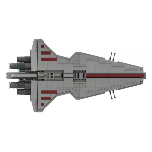 MOC 45566 Venator Class Republic attack cruiser Star Wars by Red5 Leader MOCFACTORY 4 - MOULD KING