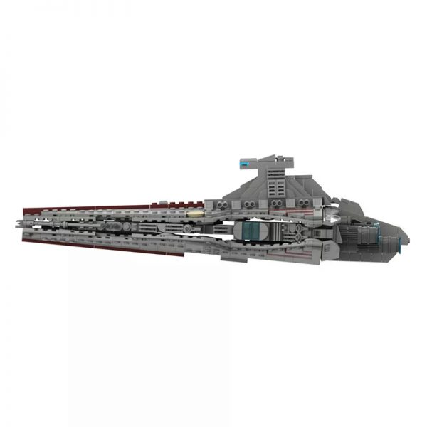 MOC 45566 Venator Class Republic attack cruiser Star Wars by Red5 Leader MOCFACTORY 5 - MOULD KING