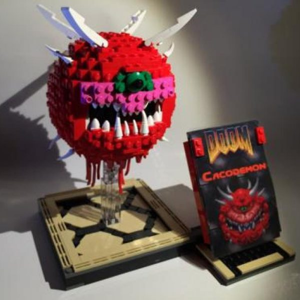 MOC 4560 Doom Cacodemon Creator by ThatSnillet MOC FACTORY 2 - MOULD KING