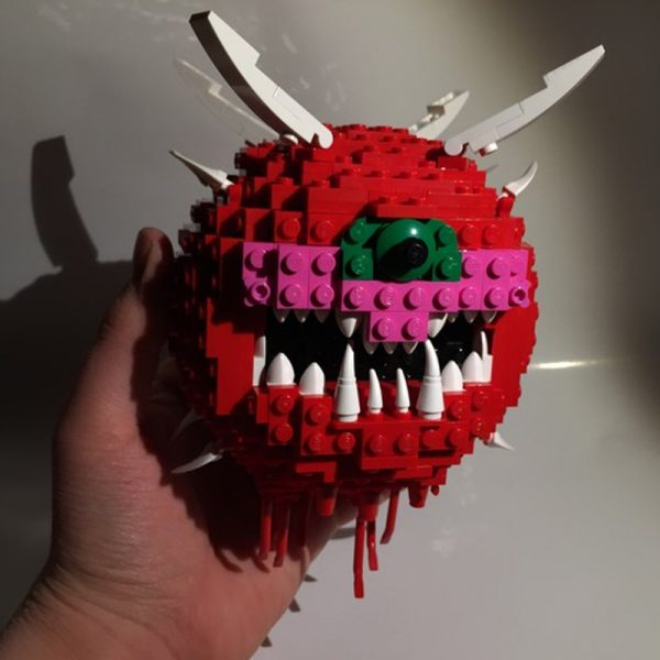 MOC 4560 Doom Cacodemon Creator by ThatSnillet MOC FACTORY 3 - MOULD KING