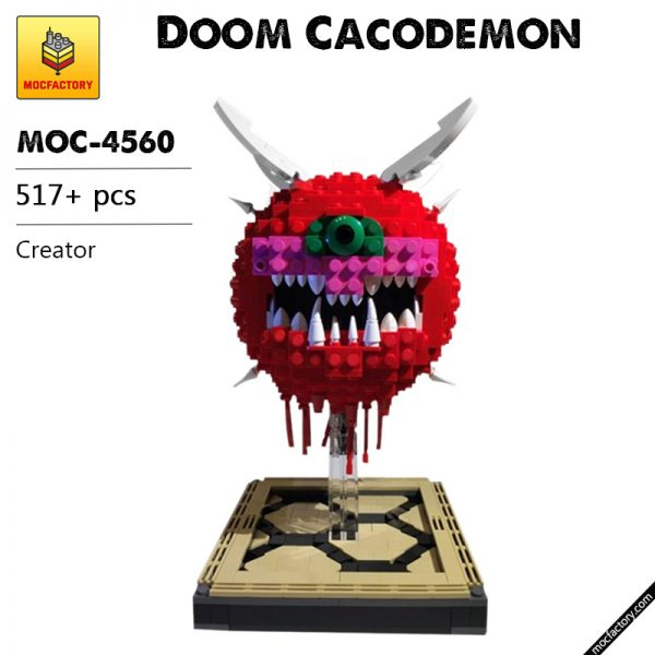 MOC 4560 Doom Cacodemon Creator by ThatSnillet MOC FACTORY - MOULD KING