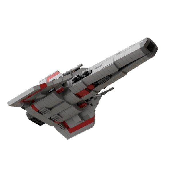 MOC 45867 Colonial Viper MK1 Version 20 Gray Space by apenello MOC FACTORY 4 - MOULD KING