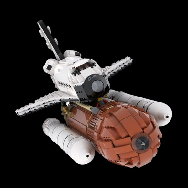 MOC 46228 Space Shuttle 1110 Scale Space by KingsKnight MOC FACTORY 4 - MOULD KING