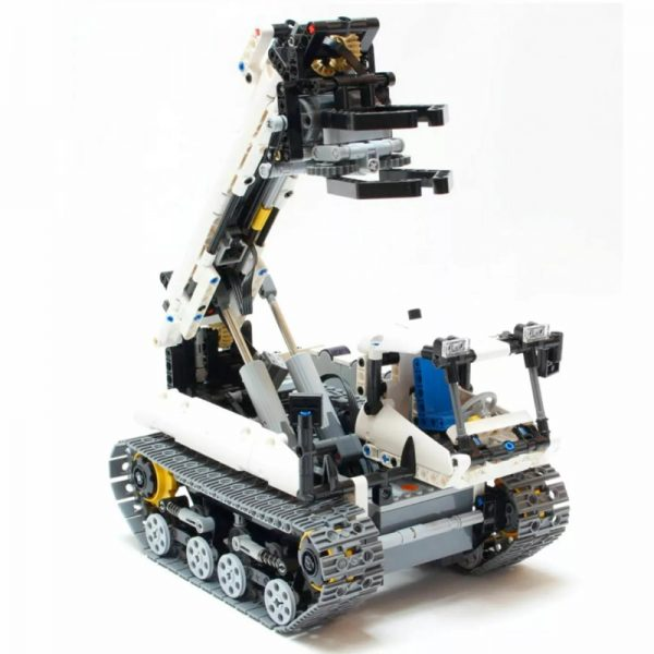MOC 4704 Crawler Grabber Technic by Nico71 MOC FACTORY 4 - MOULD KING