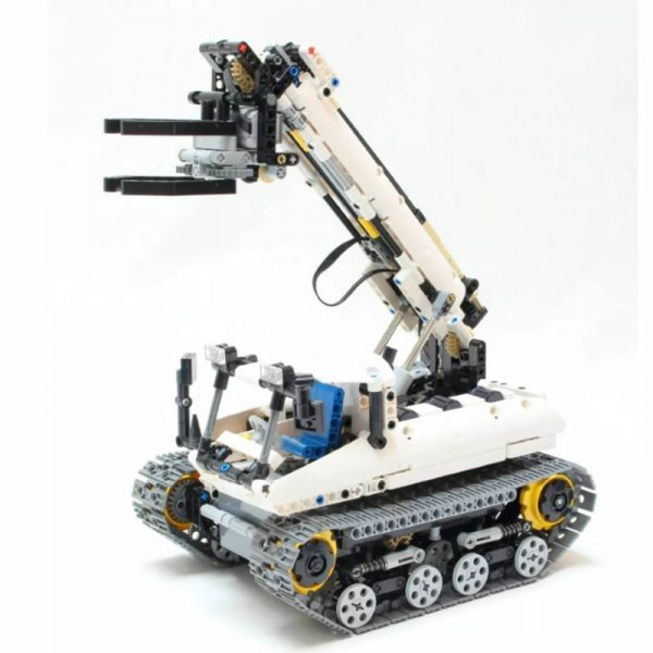 MOC 4704 Crawler Grabber Technic by Nico71 MOC FACTORY 5 - MOULD KING