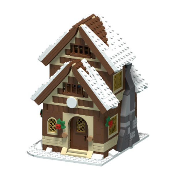MOC 47615 Winter House Creator by MX32 MOCFACTORY 3 - MOULD KING