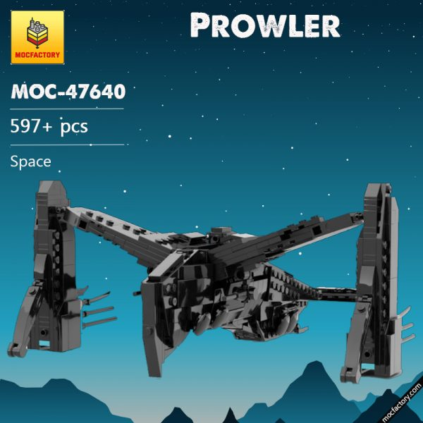 MOC 47640 Prowler Space by TheRealBeef1213 MOC FACTORY - MOULD KING