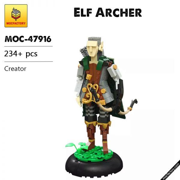 MOC 47916 Elf Archer Creator by vir a cocha MOC FACTORY - MOULD KING
