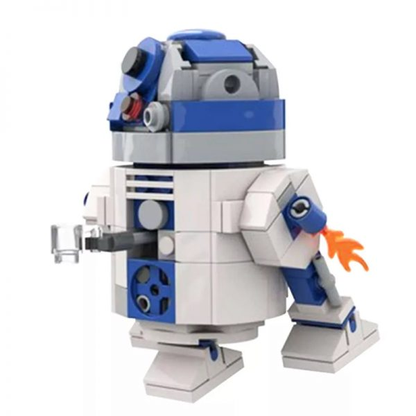 MOC 48008 R2 D2 Star Wars by Jean Bomber MOC FACTORY 2 - MOULD KING