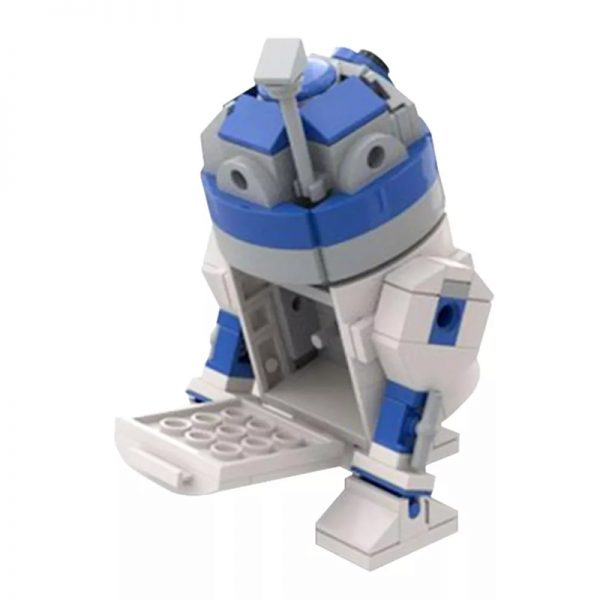 MOC 48008 R2 D2 Star Wars by Jean Bomber MOC FACTORY 3 - MOULD KING