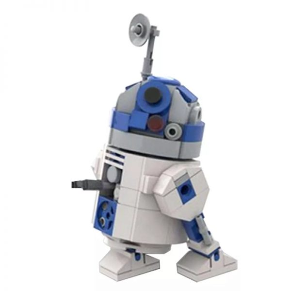 MOC 48008 R2 D2 Star Wars by Jean Bomber MOC FACTORY 4 - MOULD KING