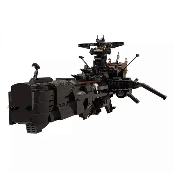 MOC 48193 Space Pirate Ship Arcadia Captain Harlock Albator Space by apenello MOC FACTORY 2 - MOULD KING
