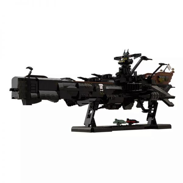 MOC 48193 Space Pirate Ship Arcadia Captain Harlock Albator Space by apenello MOC FACTORY 3 - MOULD KING