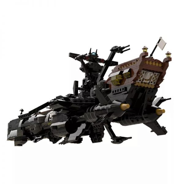 MOC 48193 Space Pirate Ship Arcadia Captain Harlock Albator Space by apenello MOC FACTORY 4 - MOULD KING