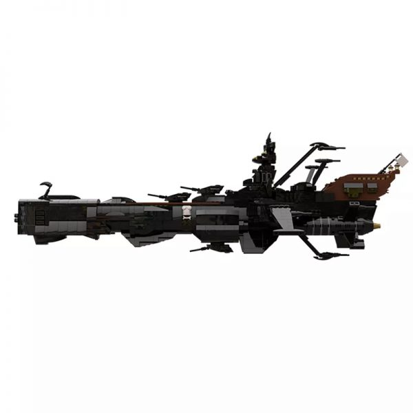 MOC 48193 Space Pirate Ship Arcadia Captain Harlock Albator Space by apenello MOC FACTORY 5 - MOULD KING