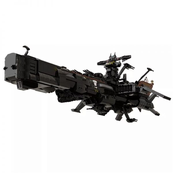 MOC 48193 Space Pirate Ship Arcadia Captain Harlock Albator Space by apenello MOC FACTORY 6 - MOULD KING