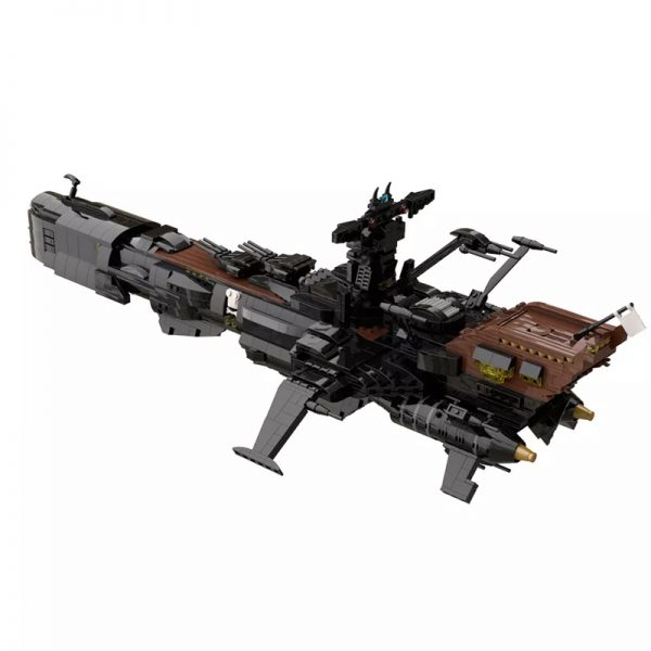MOC 48193 Space Pirate Ship Arcadia Captain Harlock Albator Space by apenello MOC FACTORY 7 - MOULD KING