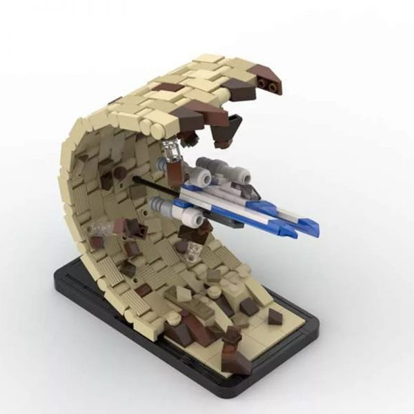 MOC 48198 There Is No Horizon Escape From Jedha Micro UWing Rogue One Star Wars by 6211 MOC FACTORY 2 - MOULD KING