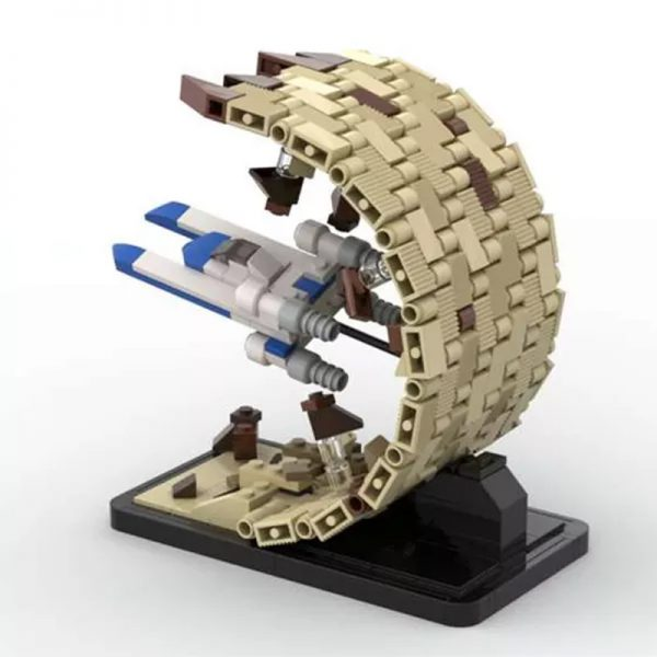 MOC 48198 There Is No Horizon Escape From Jedha Micro UWing Rogue One Star Wars by 6211 MOC FACTORY 4 - MOULD KING