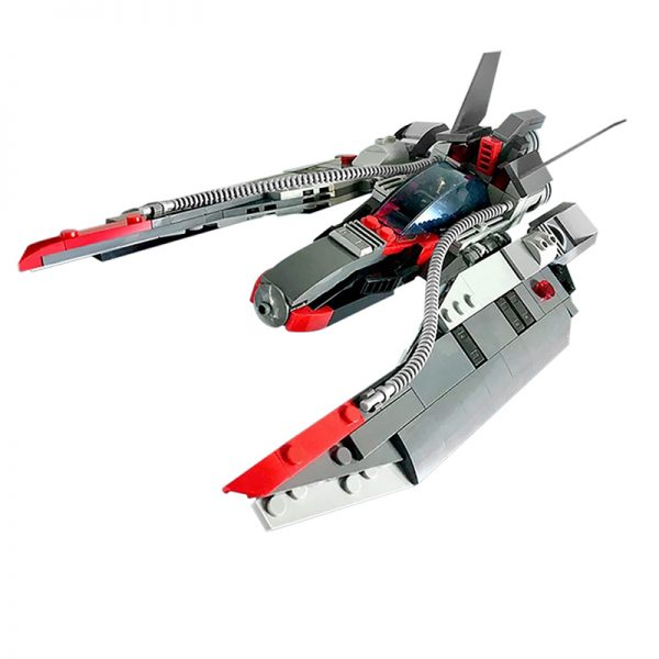 MOC 48831 Star Fighter Space Ship Space by MadMocs MOC FACTORY 2 - MOULD KING