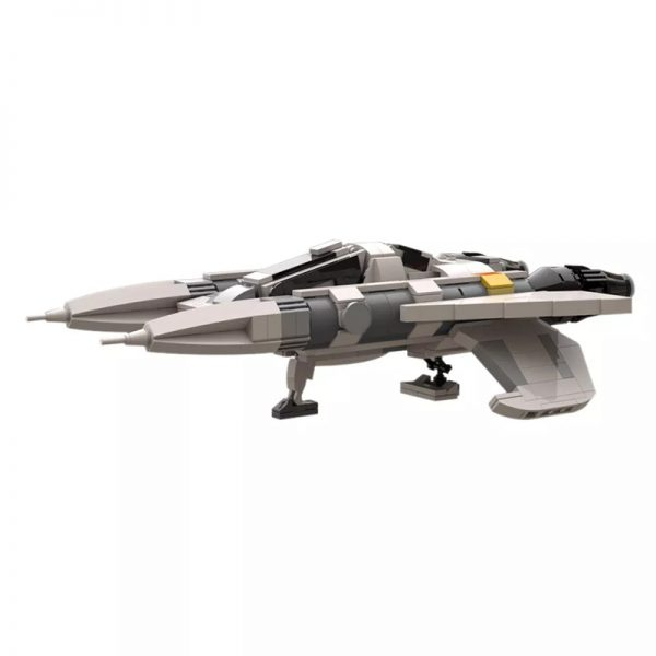 MOC 49322 Buck Rogers Starfighter 5 - MOULD KING