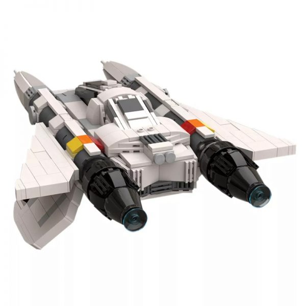 MOC 49322 Buck Rogers Starfighter 6 - MOULD KING