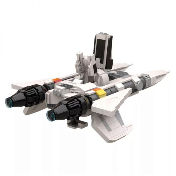 MOC 49322 Buck Rogers Starfighter 7 - MOULD KING