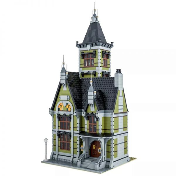MOC 49479 Old Mansion 10273 Haunted House Modular Modification Modular Buildings by Das Felixle MOC FACTORY2 - MOULD KING