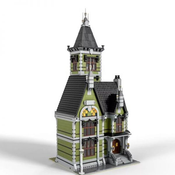 MOC 49479 Old Mansion 10273 Haunted House Modular Modification Modular Buildings by Das Felixle MOC FACTORY3 - MOULD KING