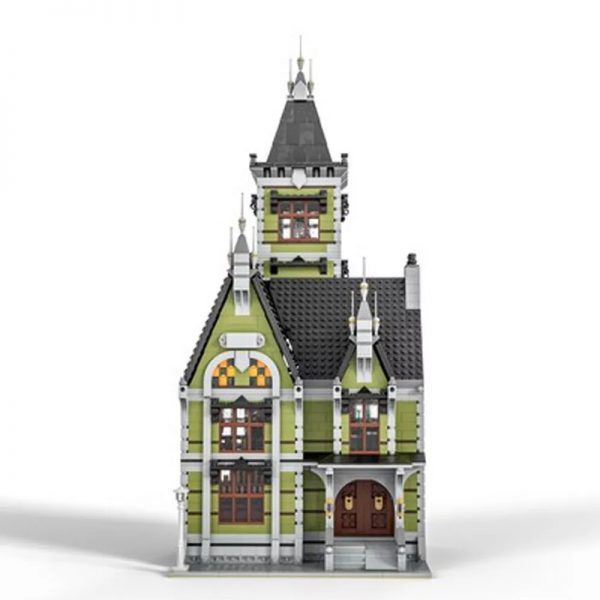 MOC 49479 Old Mansion 10273 Haunted House Modular Modification Modular Buildings by Das Felixle MOC FACTORY5 - MOULD KING