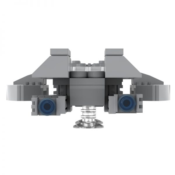 MOC 49804 Micro Battlestar Galactica Space by neroz MOC FACTORY 5 - MOULD KING