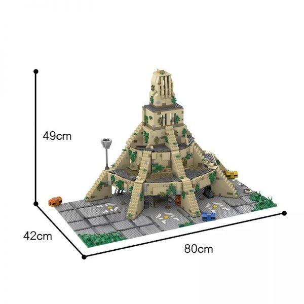 MOC 50076 Yavin IV Rebel Base with interior Star Wars by Bruxxy MOC FACTORY 3 - MOULD KING