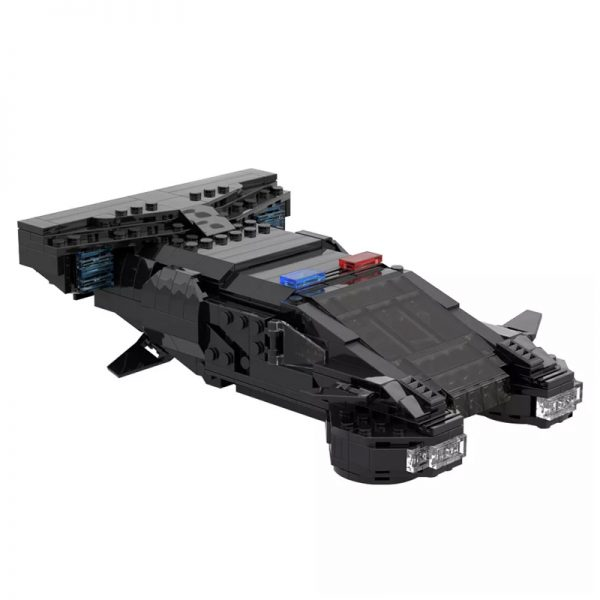 MOC 50095 Cyberpunk 2077 MAX TAC Police Vehicle From 2013 Teaser Trailer Technic by YCBricks MOC FACTORY 2 - MOULD KING