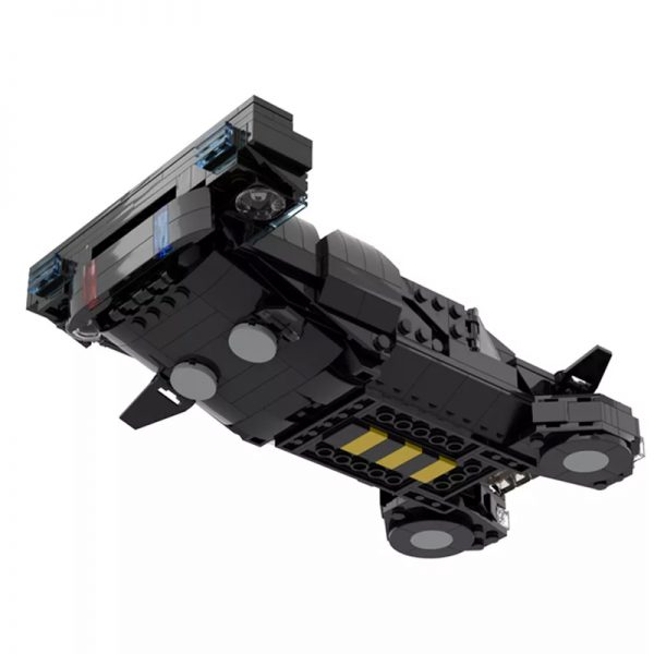 MOC 50095 Cyberpunk 2077 MAX TAC Police Vehicle From 2013 Teaser Trailer Technic by YCBricks MOC FACTORY 3 - MOULD KING