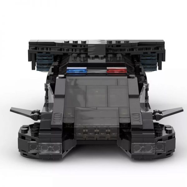 MOC 50095 Cyberpunk 2077 MAX TAC Police Vehicle From 2013 Teaser Trailer Technic by YCBricks MOC FACTORY 5 - MOULD KING