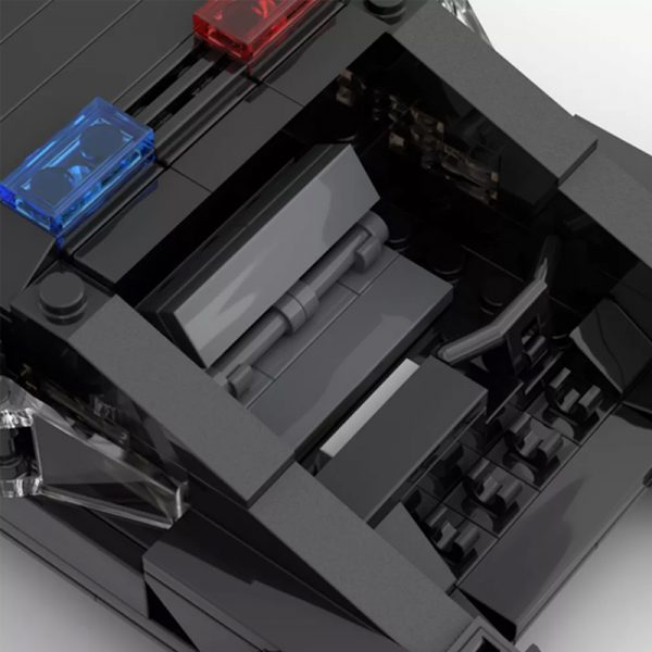 MOC 50095 Cyberpunk 2077 MAX TAC Police Vehicle From 2013 Teaser Trailer Technic by YCBricks MOC FACTORY 6 - MOULD KING
