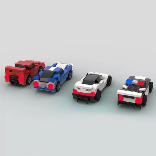 MOC 50568 Car pack 2 155 scale Creator by Mobilbenja FACTORY 2 - MOULD KING