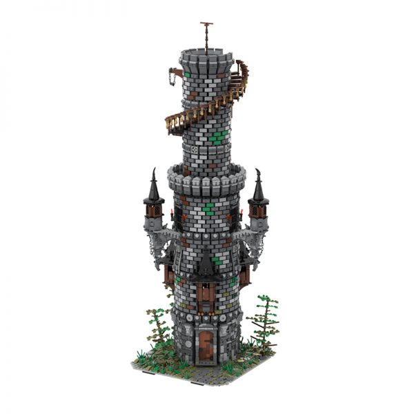 MOC 50724 Wizards Tower Modular Building by povladimir MOC FACTORY 2 - MOULD KING