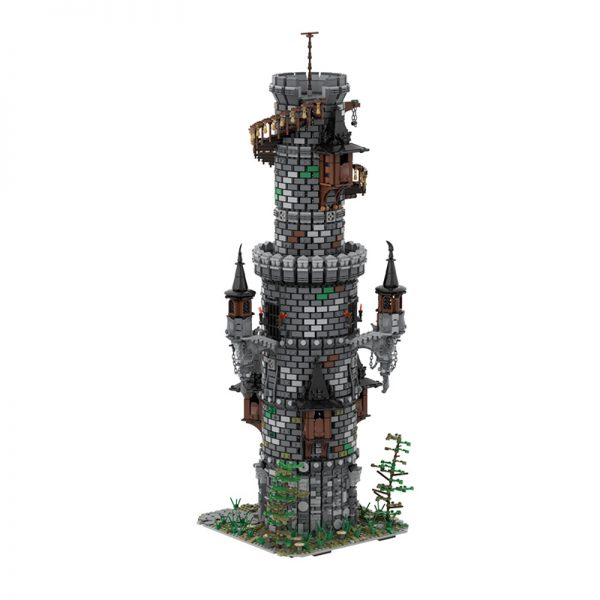 MOC 50724 Wizards Tower Modular Building by povladimir MOC FACTORY 3 - MOULD KING