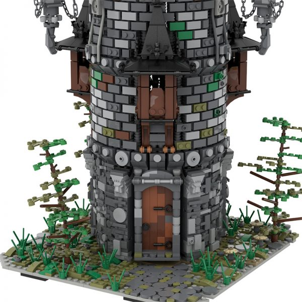 MOC 50724 Wizards Tower Modular Building by povladimir MOC FACTORY 5 - MOULD KING