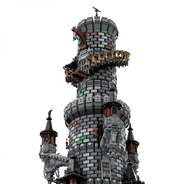 MOC 50724 Wizards Tower Modular Building by povladimir MOC FACTORY 8 - MOULD KING