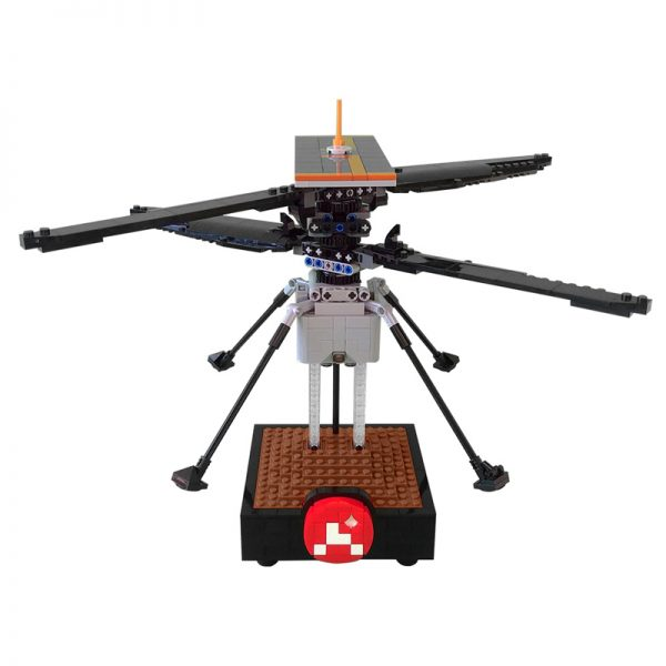 MOC 51015 NASA Mars Helicopter Ingenuity Space by Perijove MOC FACTORY 2 - MOULD KING