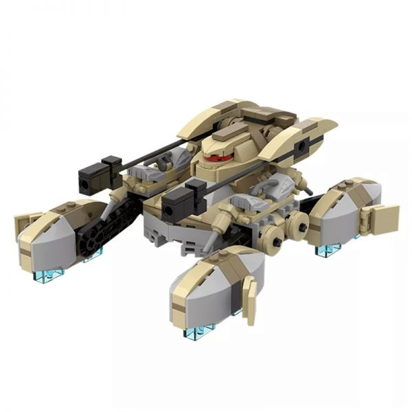 MOC 51576 CIS Ground Armored Tank Star Wars by Warlord Sieck MOC FACTORY 2 - MOULD KING