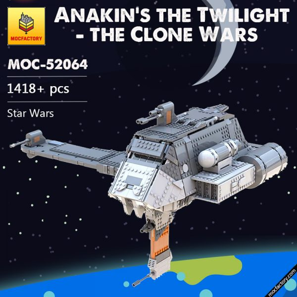 MOC 52064 Anakins the Twilight the Clone Wars Star Wars by Bruxxy MOC FACTORY 2 - MOULD KING