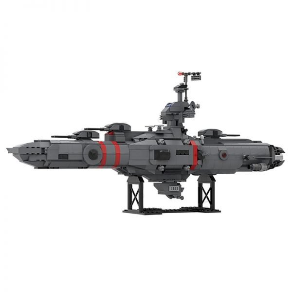 MOC 52207 Space Cruiser Space by Katan MOC FACTORY 2 - MOULD KING
