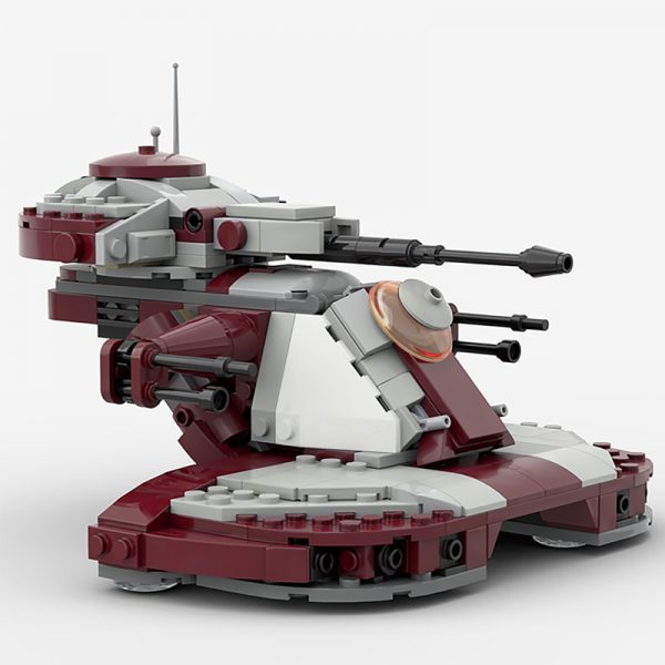 MOC 53017 AAT 75283 Modification Star Wars by 2bricksofficial MOC FACTORY 2 - MOULD KING