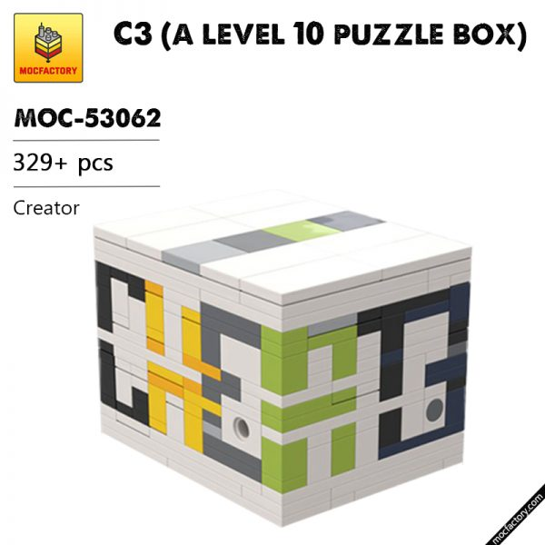 MOC 53062 C3 a level 10 puzzle box Creator by cheat3 puzzles MOC FACTORY - MOULD KING